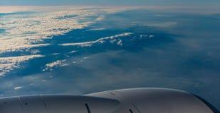 从飞机的看法 免版税图库摄影