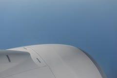 从飞机的看法 库存照片