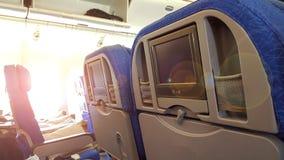 飞机的窗口 图库摄影