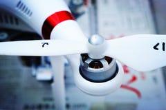 飞机的螺旋桨 库存照片