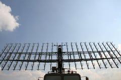 飞机的雷达 免版税库存图片