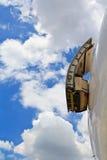 飞机的紧急出口 库存图片