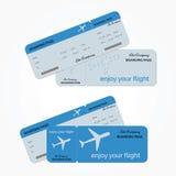 飞机票变形 也corel凹道例证向量 免版税库存图片