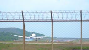 飞机空中客车330着陆 股票录像