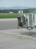 飞机空的门 免版税图库摄影