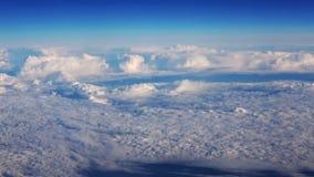 从飞机窗口的蓝天视图 影视素材