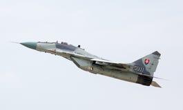 飞机米格-29支点 库存图片