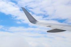 飞机翼,巴西, 2016年12月02日:旅行从São Pa 免版税图库摄影
