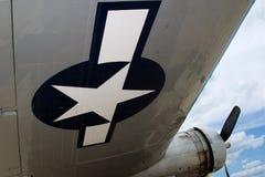 飞机翼 库存照片