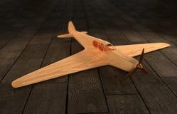 飞机背景查出的玩具白色 库存照片