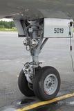 飞机脚架 免版税库存图片