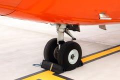 飞机脚架 免版税图库摄影