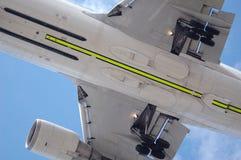 飞机脚架 库存图片