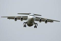 飞机装有引擎四 免版税库存图片