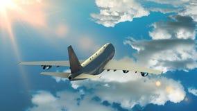 飞机覆盖飞行