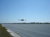 飞机起飞 免版税库存图片