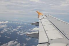 飞机辅翼 免版税库存图片