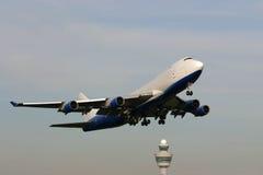 飞机采取 库存照片