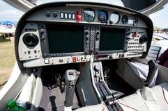飞机驾驶舱小的体育运动 免版税库存图片