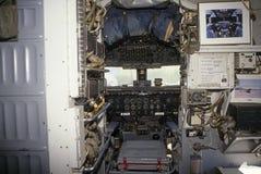 飞机驾驶舱道格拉斯liftmaster vc 免版税库存照片