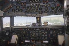 飞机驾驶舱道格拉斯liftmaster vc 库存照片