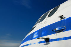 飞机驾驶舱 库存照片