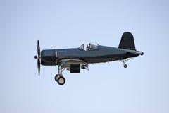 飞机黑色 免版税库存图片