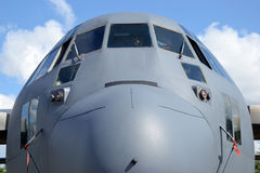 飞机,正面图 图库摄影
