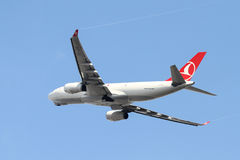 飞机离开 库存照片