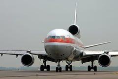 飞机货物 免版税库存图片