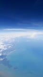 从飞机(1)观看 免版税库存图片