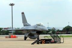 飞机F-16 免版税库存照片
