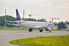 飞机SP-LNF 免版税图库摄影