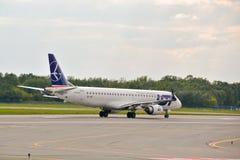 飞机SP-LNF 免版税库存照片