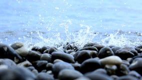 水飞溅在 库存图片
