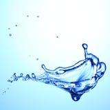 飞溅水 免版税库存照片