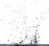 飞溅水 图库摄影