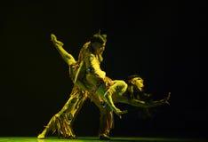 飞溅爱这全国民间舞的节日水 免版税图库摄影