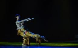 飞溅爱这全国民间舞的节日水 库存图片