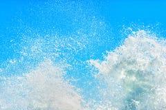 水飞溅 免版税库存图片