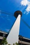 飞碟餐馆,新的桥梁,布拉索夫, 库存照片