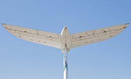 飞翅后方尾标 库存图片
