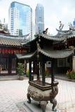 飞腓节keng thian新加坡的寺庙 免版税库存图片
