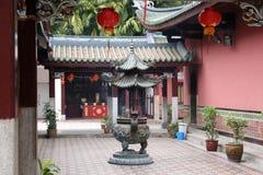 飞腓节thian keng的寺庙 库存图片