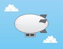 飞艇软式小型飞艇 库存图片