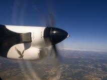 飞行中午 库存图片