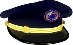 飞行员军帽 库存照片
