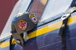 飞行员盔甲 库存照片