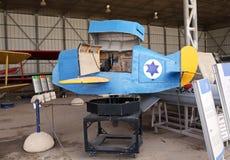 飞行员链接的模拟器 图库摄影