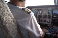 飞行员 免版税库存图片
